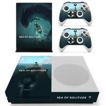 Sea of Solitude decal xbox one S console and 2 controllers - $15.00