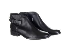 UGG Black Barnett Water Resistant Bootie Ankle Boot Sz 8 - $1.404,50 MXN