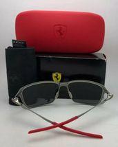 Polarisiert Oakley Sonnenbrille Scuderia Ferrari Tincan OO4082-09 Schwarz Chrom image 4