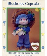 Blueberry Cupcake Doll Dumplin Designs Crochet Pattern/INSTRUCTIONS - $3.57