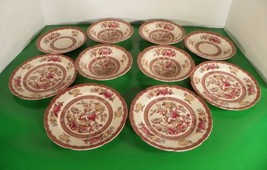 Maruta INDIAN TREE Vintage Bread Plates Berry Bowls Saucers LOT OF 10 Pi... - $29.69