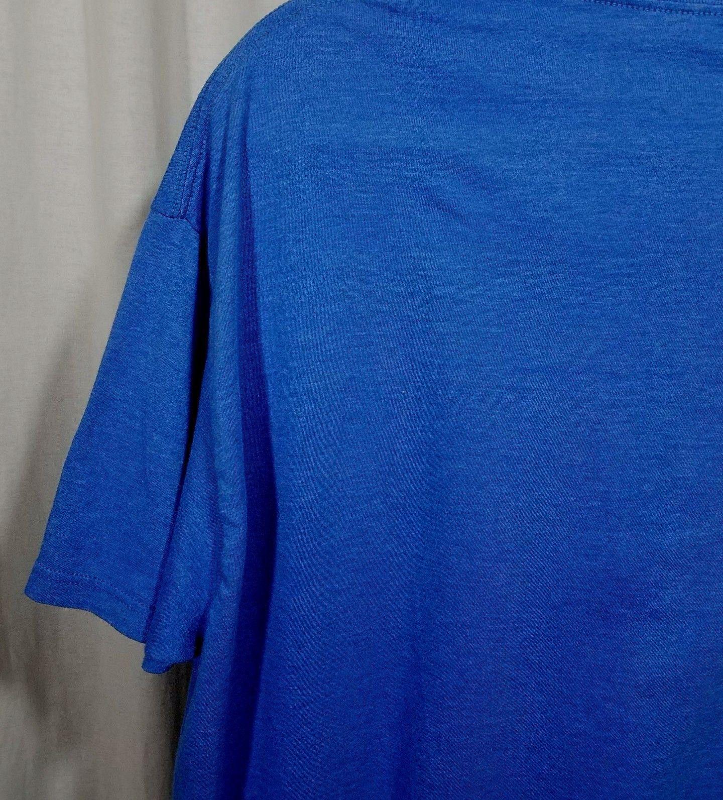 It's On Like Donkey Kong T Shirt Blue Short Sleeve Size XL