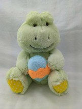 "Animal Adventure Green Frog Easter Egg Plush 8"" 2017 Stuffed Animal Toy - $8.95"