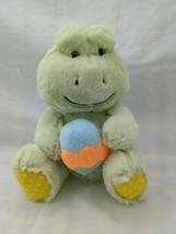 "Animal Adventure Green Frog Easter Egg Plush 8"" 2017 Stuffed Animal Toy - $8.95"