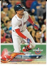2018 Topps Opening Day #22 Mookie Betts Boston Red Sox - $1.00
