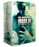 The Incredible Hulk: The Complete Series (DVD, 20-Disc Box Set) Seasons 1-5 - $34.69