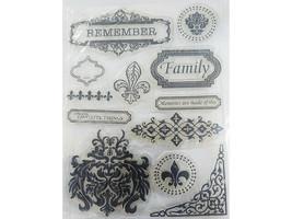 Memories Clear Stamp Set