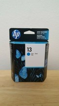 HP 13 Cyan Blue Ink Cartridge Sealed Box - Expired 02/2013 Date - $8.56
