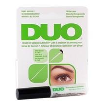 DUO Brush On Striplash Adhesive False Eyelash Invisible Glue White/Clear... - $5.93