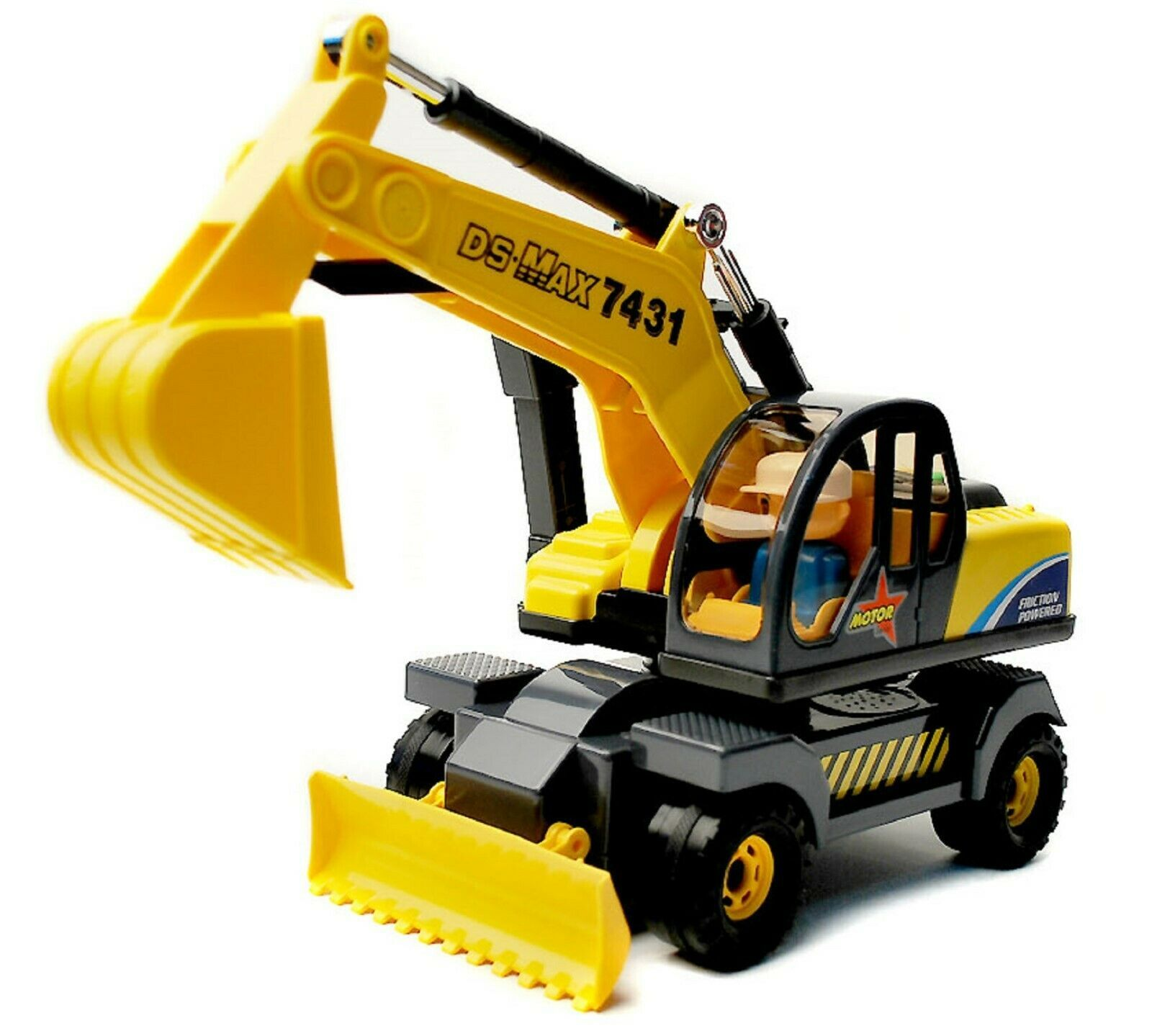 Daesung Toys Melody Dozer Shovel Bulldozer Forklift Car Vehicle Construction Toy