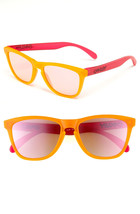 Oakley FROGSKINS Limited Edition BlackLight Oranger Pink w/Pink Iridium ... - $117.55