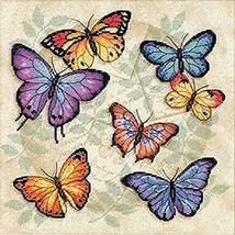 """Dimensions 'Butterfly Profusion' Counted Cross Stitch Kit, 14 Count Aida, 11"""" x  - $13.99"""