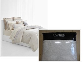 $420.00  Ralph Lauren Alene Metallic Jacq. Full/Queen Comforter Set Crea... - $103.95