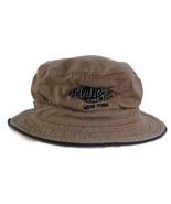 Hard Rock Cafe New York 100% Cotton Tan Khaki Bucket Hat Beach Hat Sz S/... - $39.99