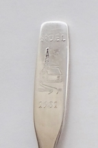 Collector Souvenir Spoon Noel 1981 Christmas Country Church with Steeple - $2.99