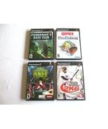 PS2 Lot: Rapala Pro Fishing Fishermans - Bass Club - World Poker - Baseb... - $9.99