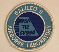 GALILEO II AIRBORNE LABORATORY NASA 712 CV990 - Patch - $30.00