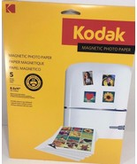 Kodak Magnetic Photo Letterx5 Color Photographic Paper. - $19.79