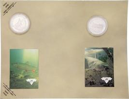 Collectible Coins TroutCatfish - $5.99