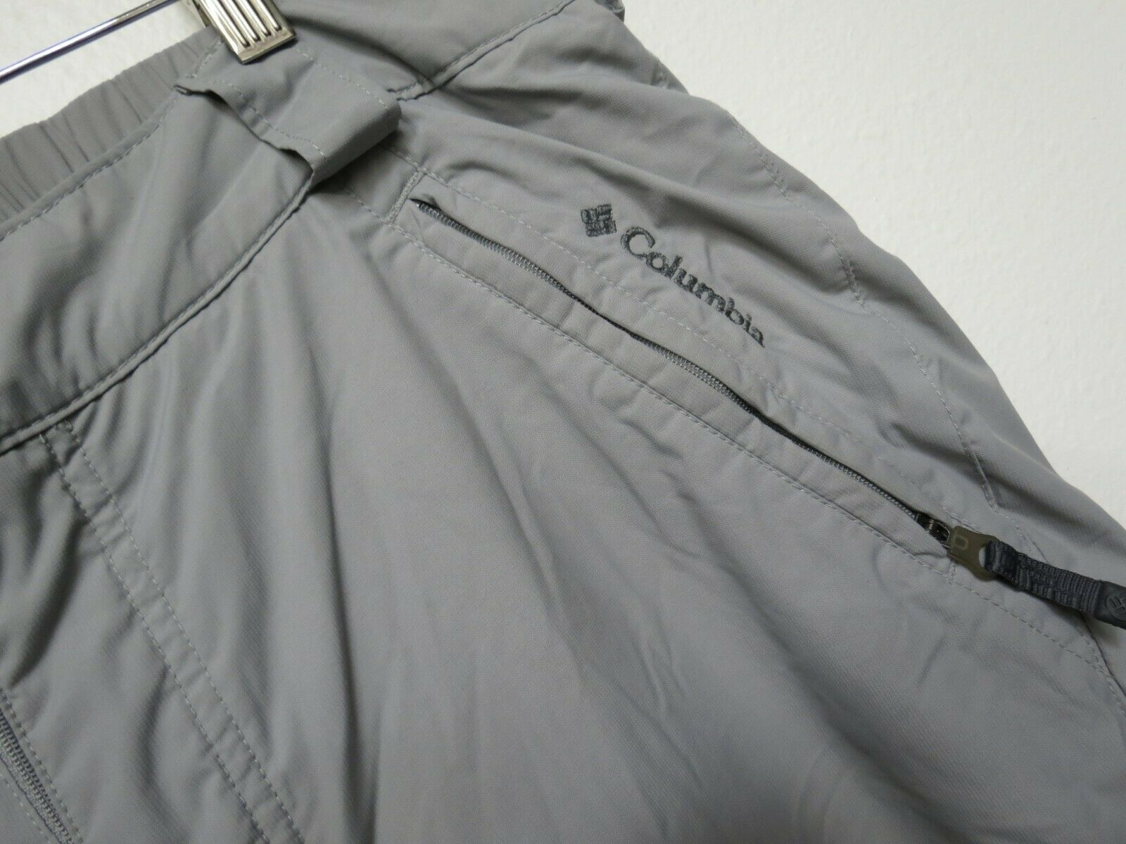 Columbia Snow Pants Ski Waterproof Snowboard Winter Insulated Size Large Gray