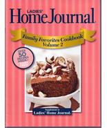 Ladies Home Journal Vol.2 Family Favorites Cookbook 2008 Supplement - $2.99
