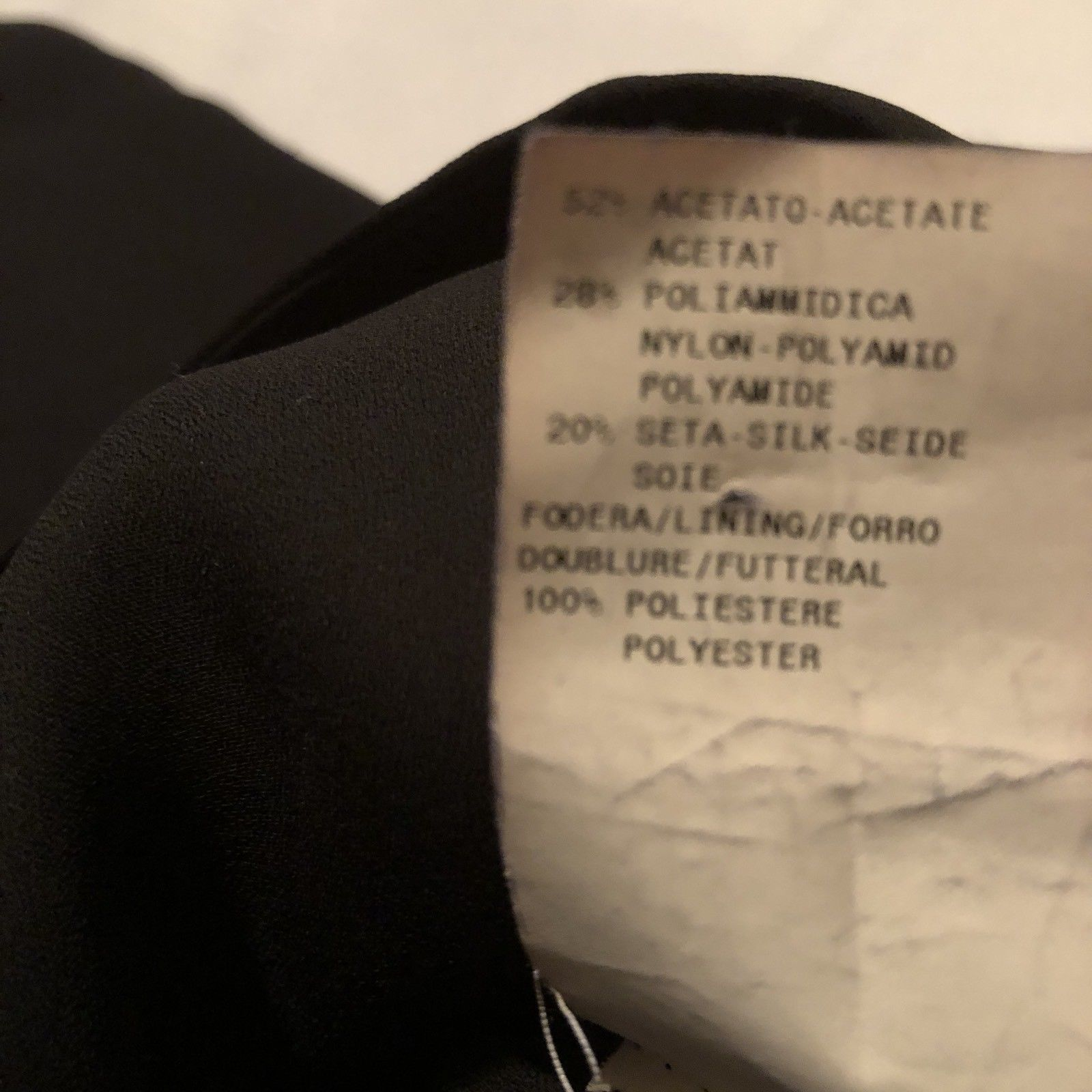 Armani Collezioni Black Halter Lined Dress Size 10 EU 46 Prom Evening image 9
