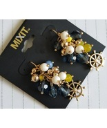Nautical Cluster Earrings by Mixit - $7.00