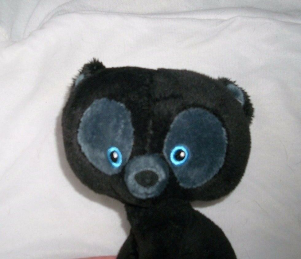"7"" DISNEY BRAVE HUBERT HARRIS BLACK BEAR CUB MERIDA STUFFED ANIMAL PLUSH TOY"