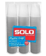 Solo 3-Ounce Plastic Bathroom Cups, 150-Count Package 150 - $10.15