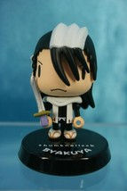 Bandai Bleach Thumbnailook Trading Mini Figure Kuchiki Byakuya - $15.99