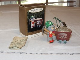Hallmark Keepsake Ornament Rock Candy Miner Light Magic Christmas Pre-owned - $16.33