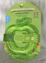 Green Sprouts Cool Soothing Water Ice Teether Ring Green apple - $9.85