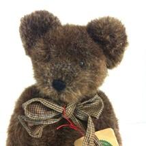 Boyds Bears Brumley 12 In  Bear OVC Exclusive Retired Plush Dark Brown w... - $19.79