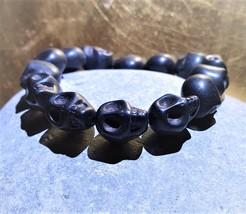 VOODOO spell Papa Legba Skull Bracelet Haunted jewelry Loa Wealth Money  - $97.00