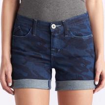 Rock & Republic Denim Jean Shorts - Darl Blue Camo - US 14
