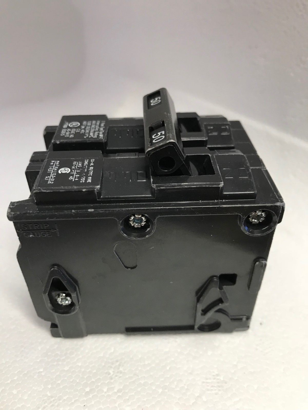 Murray MP250 50 Amp Two-Pole Type MP-Circuit Breaker 120/240 V