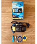 Sony Cybershot MPK-P9 40m Waterproof Camera Case Marine Pack FREE SHIPPING - $49.49