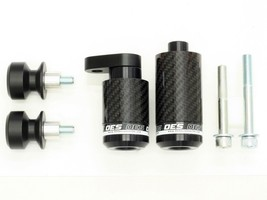 OES Carbon Frame Sliders and Delrin Spools 2007 2008 Kawasaki Ninja ZX6R No Cut - $99.99