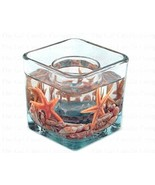 Starfish Gel Candle - Cube - $24.20