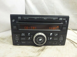 09 10 11 12 Nissan Sentra AM FM Radio Cd MP3 Player CY13F 28185-ZT50A TRS36 - $23.21