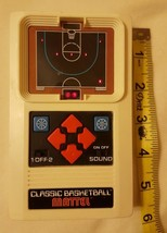 MATTEL ELECTRONIC CLASSIC BASKETBALL HANDHELD CONSOLE VIDEO GAME 2003 pr... - $19.83