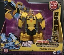Hasbro Transformers Cyberverse Ultra Class Bumblebee 6.75 inch Action Fi... - $16.94