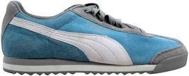 Puma Roma Pigskin EXT Sky Blue/Vapor Blue-White 341959 16 Women's SZ 9 - $56.70