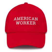 American worker hat / American worker Cotton Cap / American worker / labor day  image 5