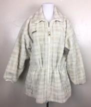 Vintage Columbia Fleece Full Zip Anorak Jacket - Women's Large - $26.18