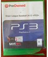 Major League Baseball MLB 2K13/NBA 2K13 PS3 For Playstation 3 - $6.71