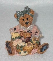 Boyd Bearstone Resin Bears Justina The Message Bearer Figurine #2273 27E... - $8.56