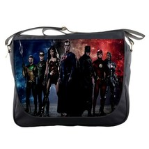 Messenger Bag Batman Superman Wonder Woman The Flash Superheroes Movie Animation - $30.00