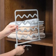Closet Shelf Dividers Wardrobe Clothes Wire Shelving High Quality Patterns - $17.78