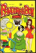 Pandoras Box, Nanny Goat 1973, feminest underground comix - $15.25